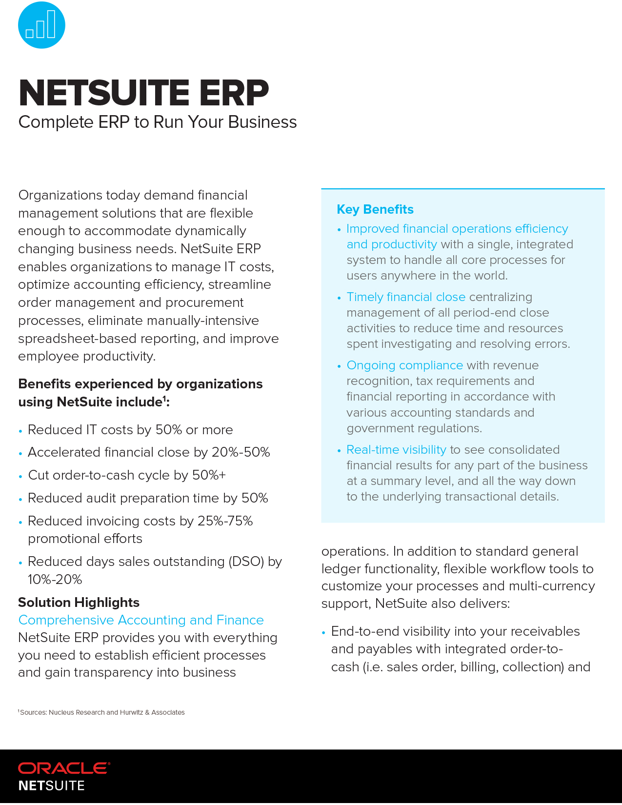 NetSuite ERP Complete ERP to Run your business