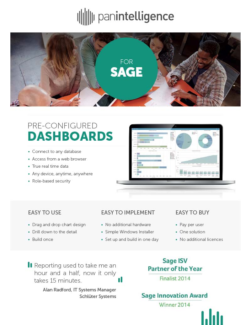 Panintelligence for Sage 200 Factsheet